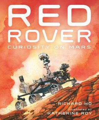 red rover curiosity on mars book cover
