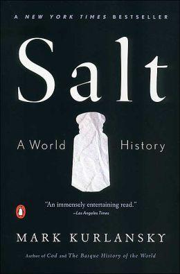 book cover of salt by mark kurlansky