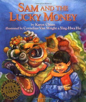 capa de livro de sam-and-the-lucky-money