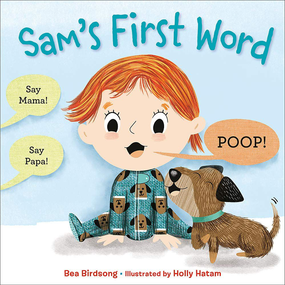 Cover of Sam's First Word by Birdsong