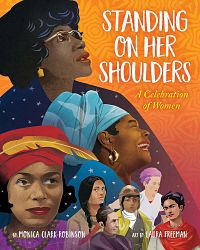 Cover of Standing on her Shoulders by Clark-Robinson