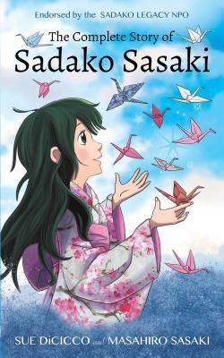 Sadako Sasaki and paper cranes origami in books