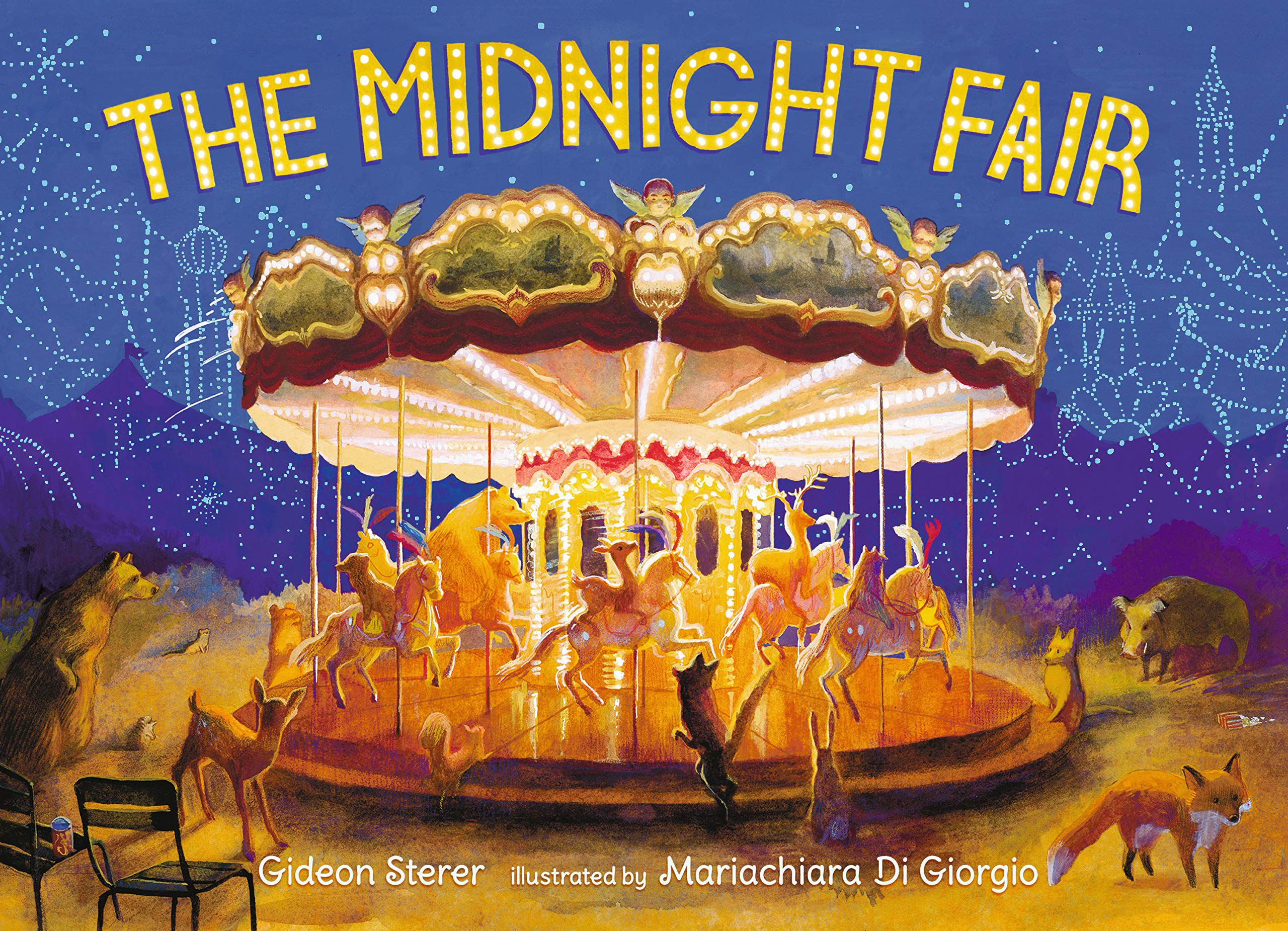Cover of The Midnight Fair by Sterer
