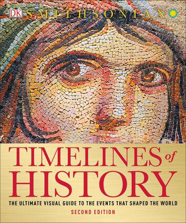 book cover of Timeslines of History by DK
