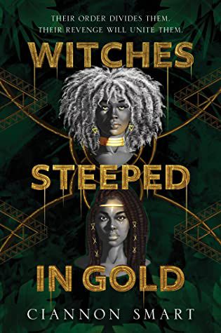 Witches Steeped in Gold book cover