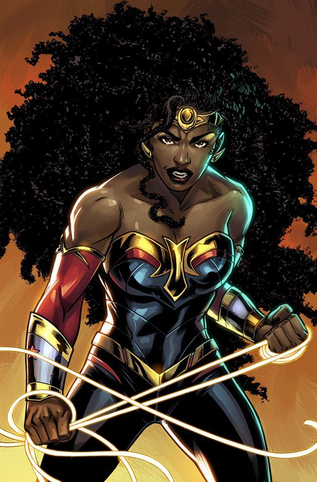 DC Comics Nubia Art DC Comics: Future State