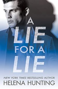 A lie for a lie by Helena Hunting cover