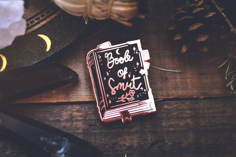 Book of Smut enamel pin