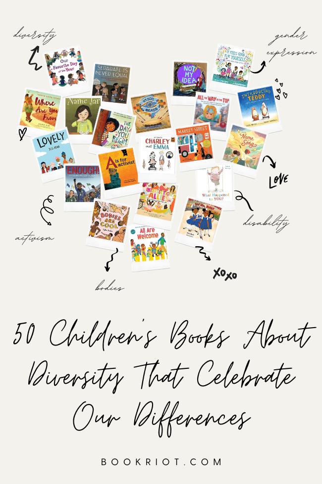 50 children's books about diversity