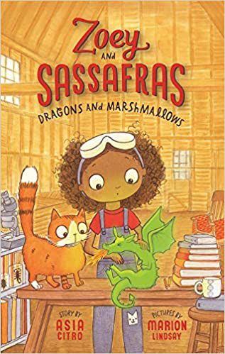Zoey and Sassafras: Dragons and Marshmallows book cover