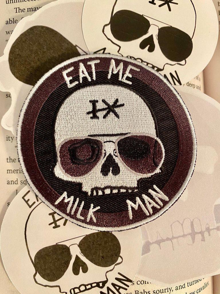 Gideon the Ninth Eat Me, Milk Man patch