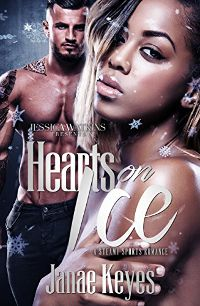 HEARTS ON ICE by Janae Keyes cover