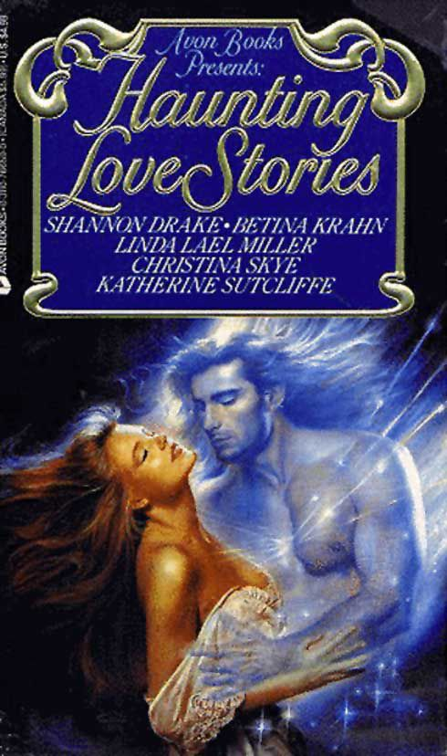 cover of Haunting Love Stories, featuring Fabio