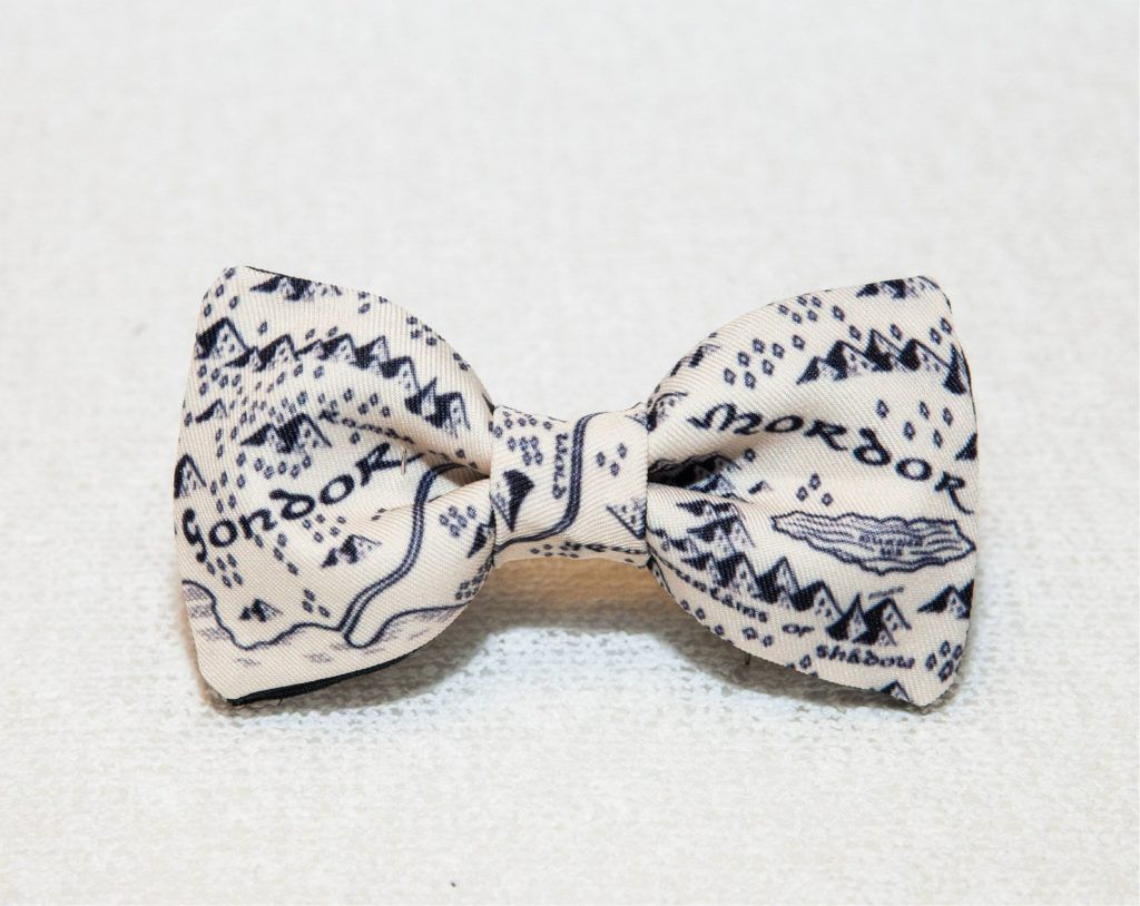 Gondor and Mordor Lord of the RIngs bowtie