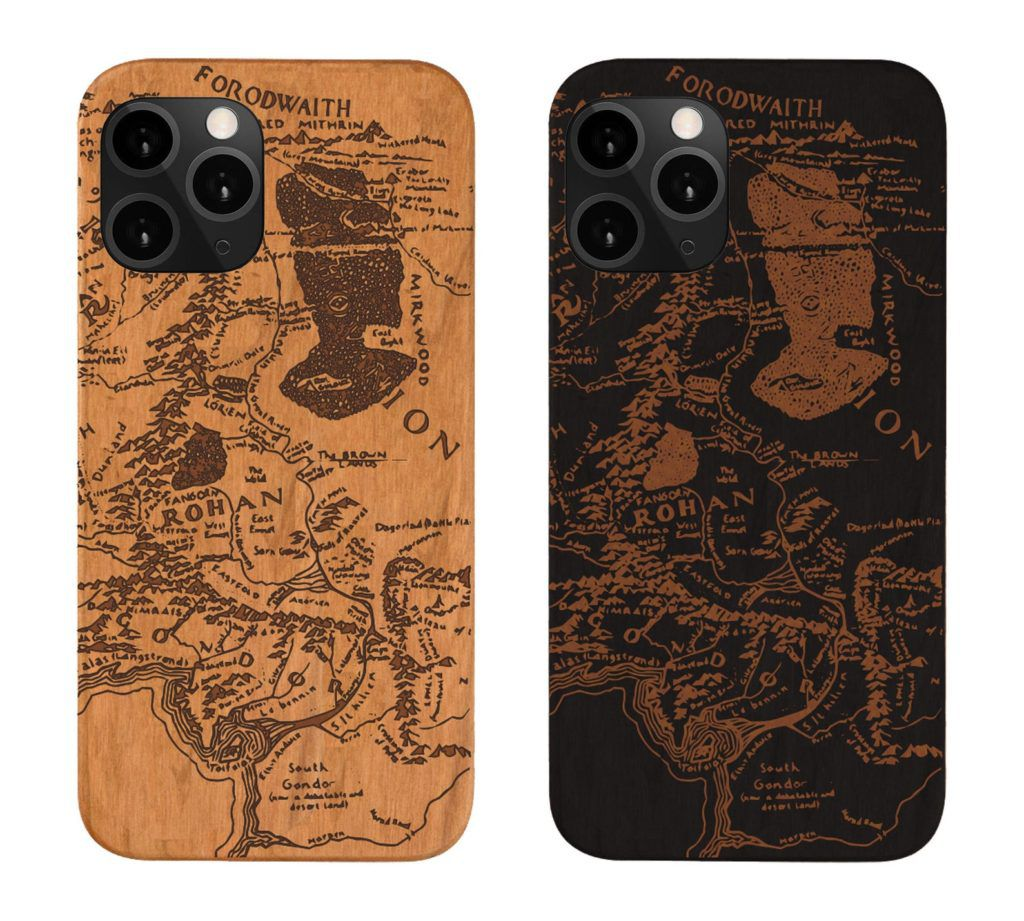 Middle-earth map phone case