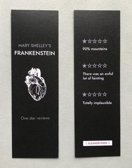 One Star Review Funny Bookmark