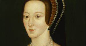 Portrait of Anne Boleyn, Henry's second queen; a later copy of an original painted c. 1534