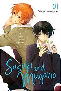 Sasaki and Miyano 1 cover - Shou Harusono