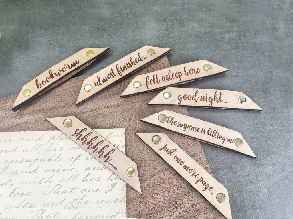 Series of Funny Leather Page Corner Bookmarks