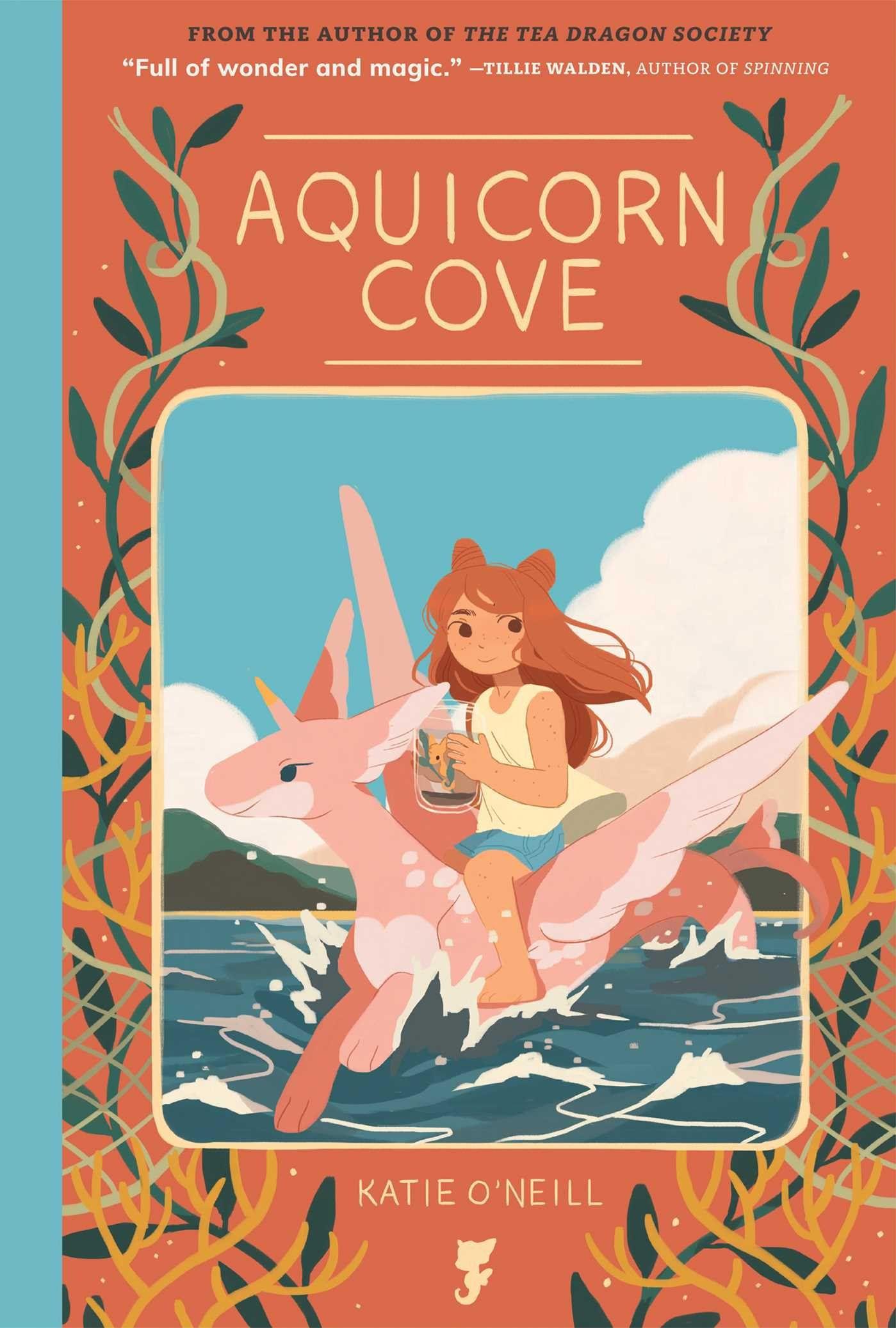 Aquicorn Cove Comic Cover