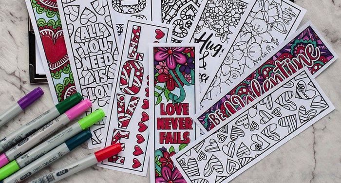 bookmarks to color