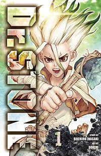 Cover of Dr. STONE for Shonen manga