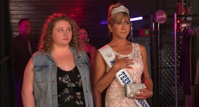 Jennifer Aniston and Danielle Macdonald in movie DUMPLIN' (2018) https://www.imdb.com/title/tt4878482/mediaviewer/rm3157553152/