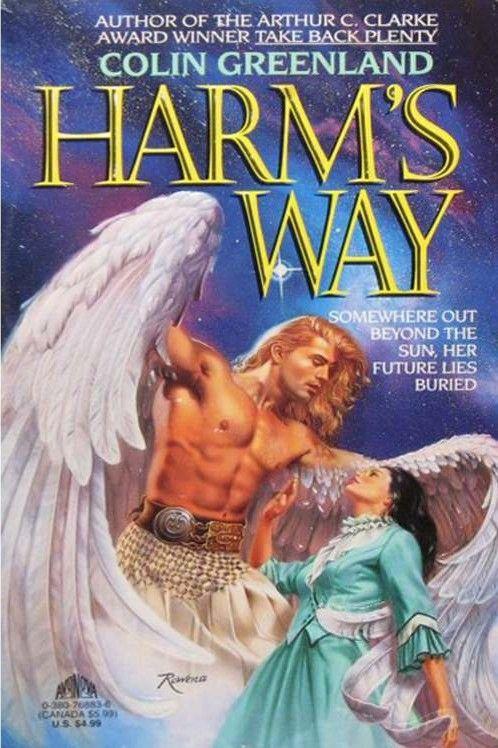 Harm's Way cover, featuring Fabio