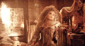 image of Helena Bonham Carter as Miss Havisham in a still frame from Great Expectations (2012) https://www.imdb.com/title/tt1836808/mediaviewer/rm221227008/
