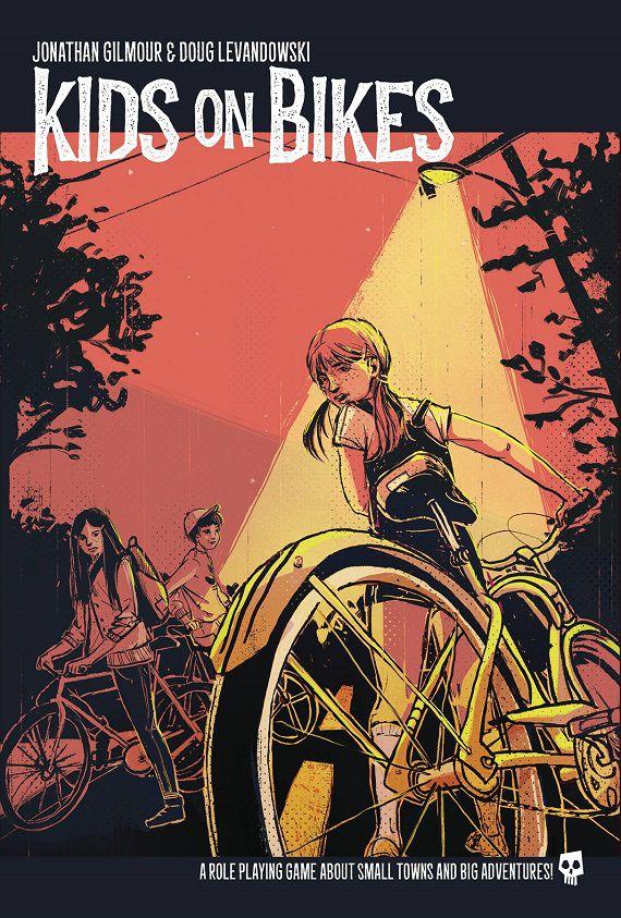 Kids on Bikes game book cover