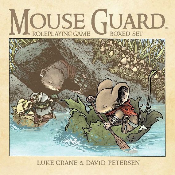 Mouse Guard boxed set cover