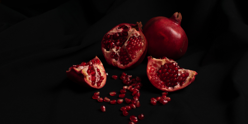 pomegranate for persephone and hades mythology