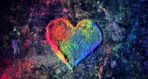 heart made of rainbow-colored chalk dust https://unsplash.com/photos/Jv_oD5CuVfw
