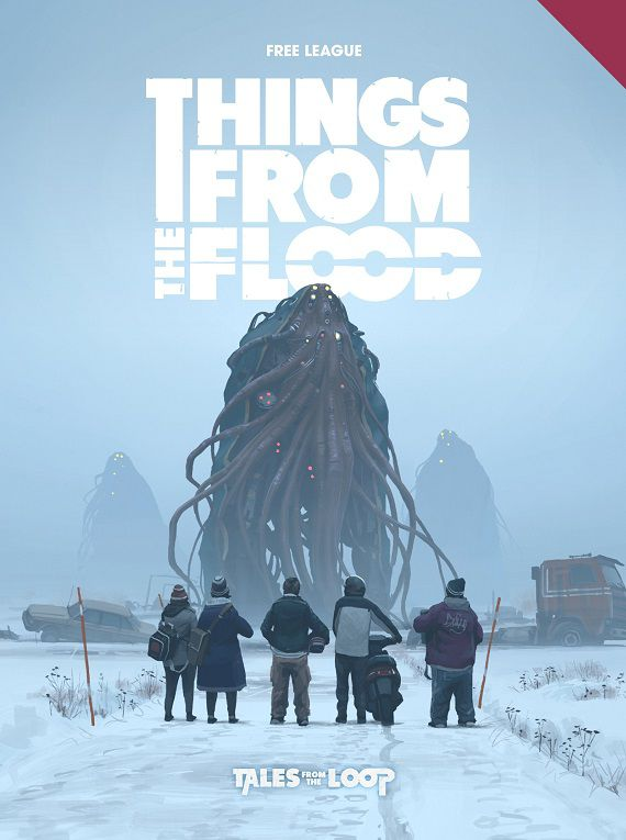 Things from the Flood game book cover