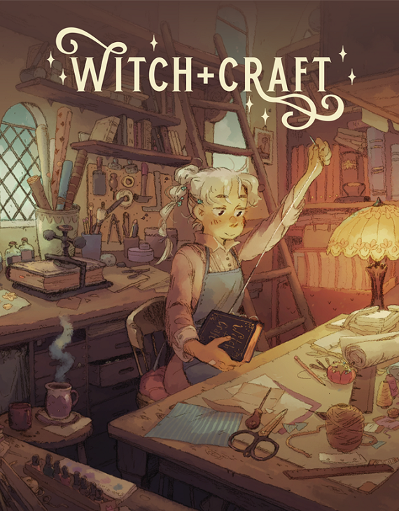 Witch + Craft supplement cover
