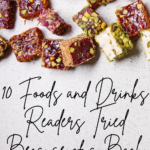 10 Foods and Drinks Readers Tried Because of a Book Pinterest pin