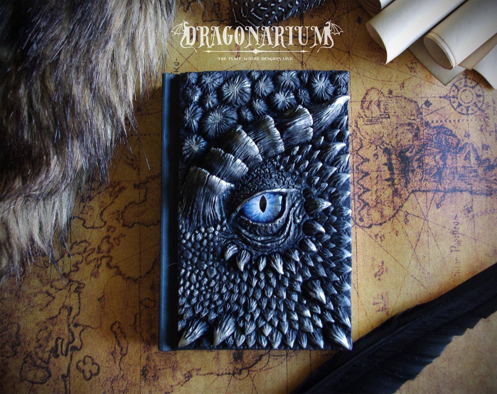 3D Dragon face notebook