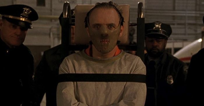 Anthony Hopkins and Charles Napier in The Silence of the Lambs (1991) film still feature