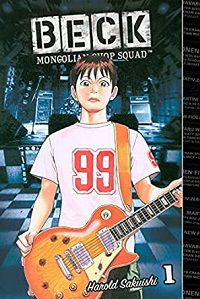 Beck 1 cover - Harold Sakuishi