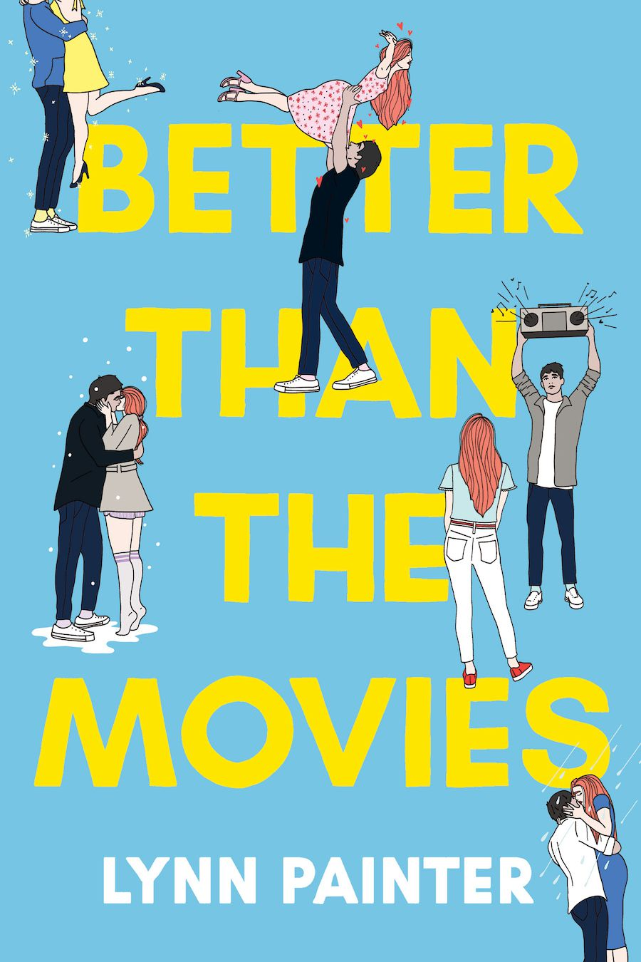 cover image of Better Than the Movies by Lynn Painter