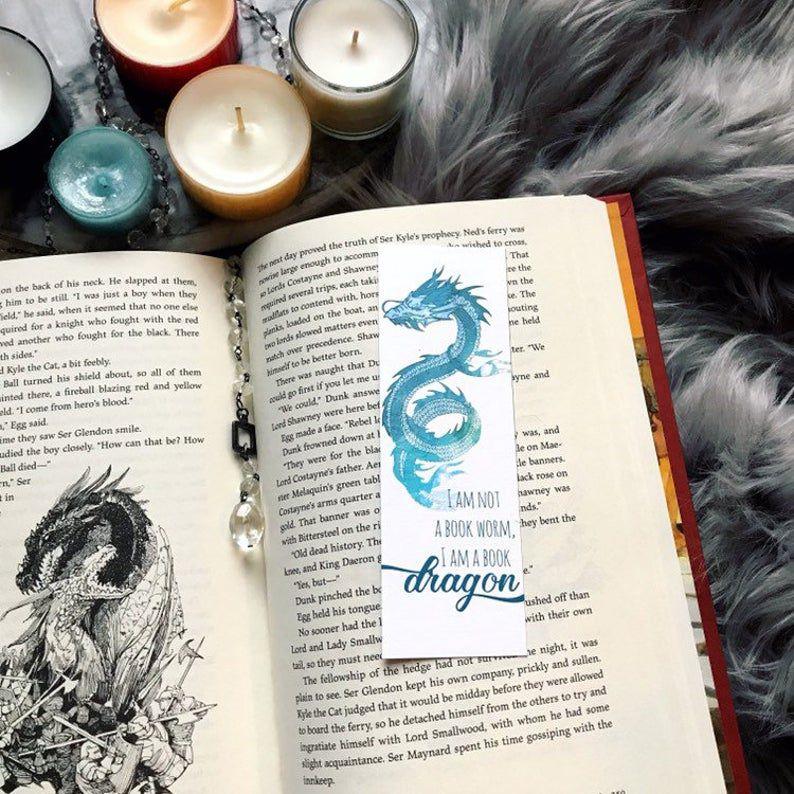 Book Dragon bookmark