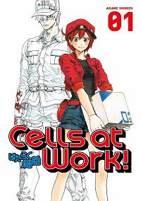 Cells at Work 1 cover - Akane Shimizu