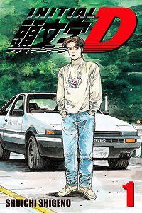 Initial D 1 cover - Shuichi Shigeno