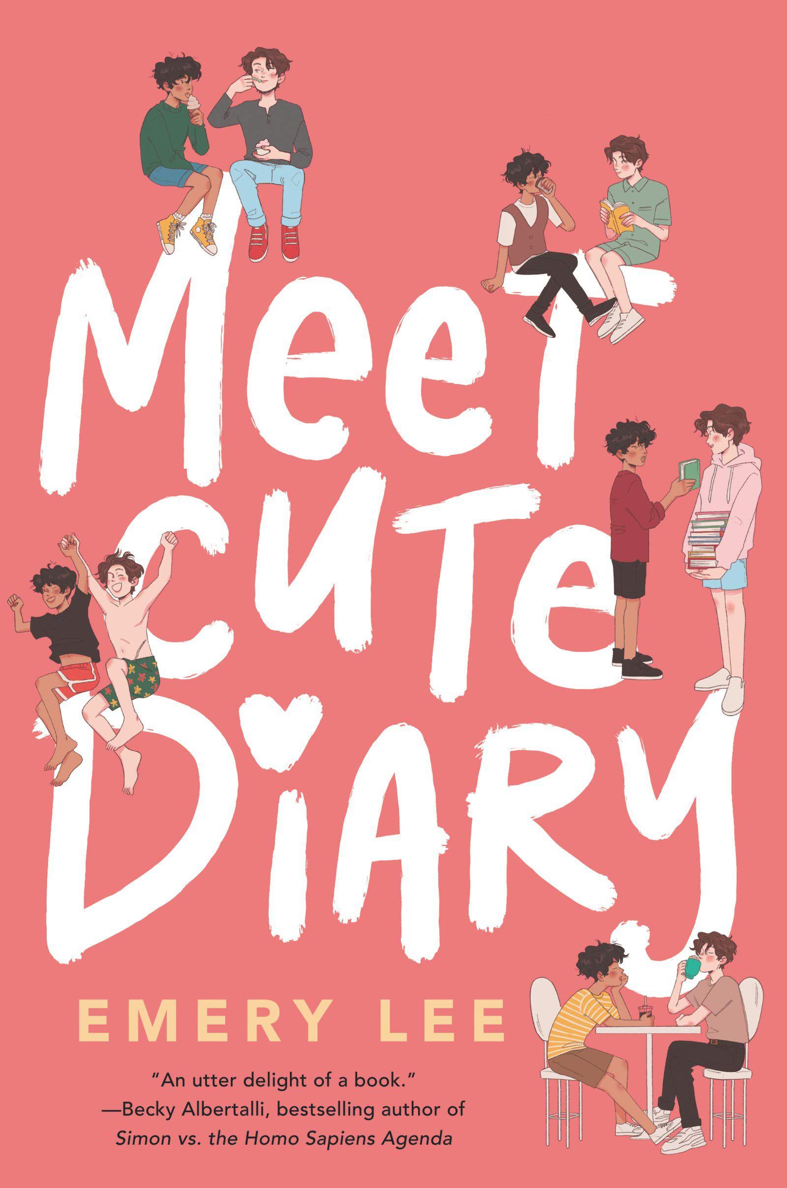 Meet Cute Diary book cover