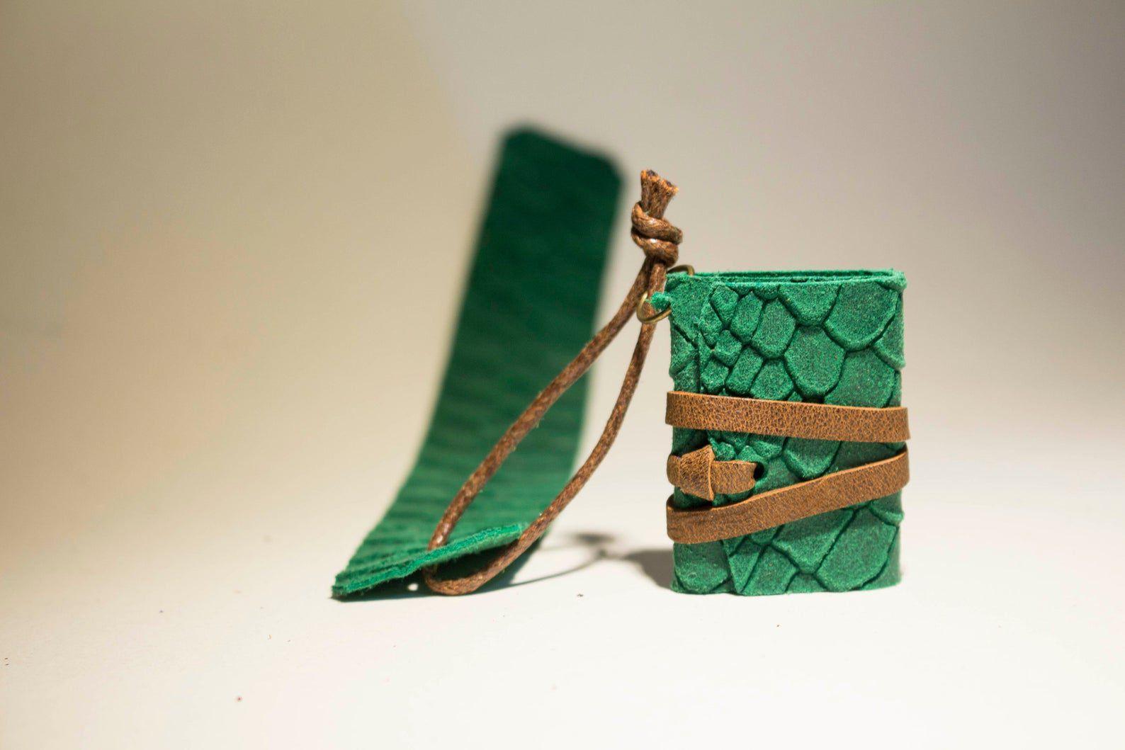 Miniature dragon book bookmark