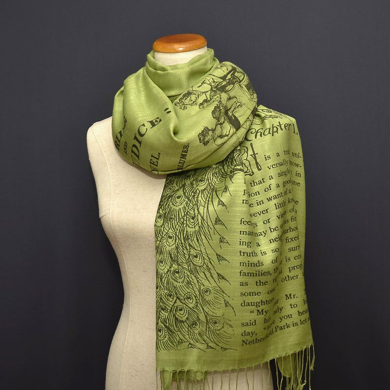 Pride and Prejudice scarf shawl