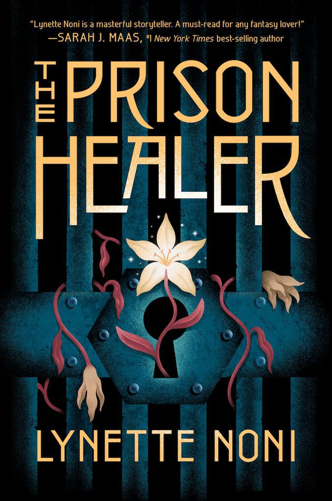 cover image of The Prison Healer by Lynette Noni
