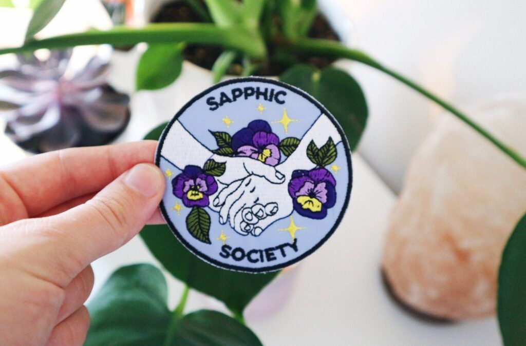 Sapphic Society patch