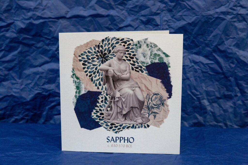 Sappho greeting cards