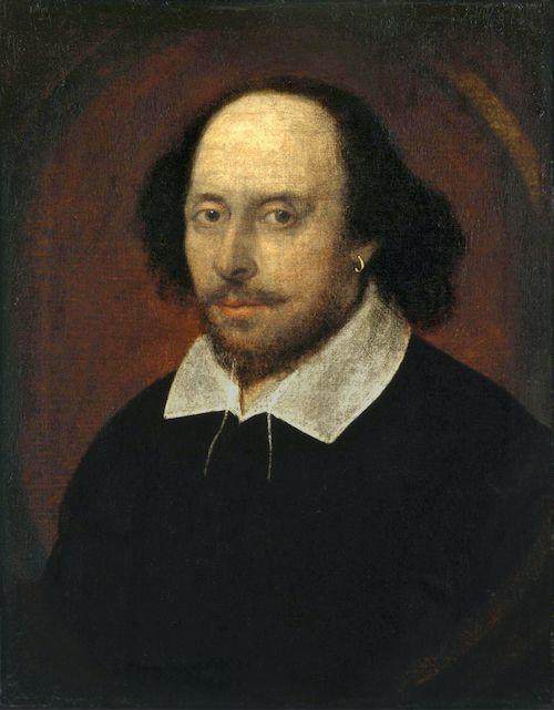 possible portrait of William Shakespeare